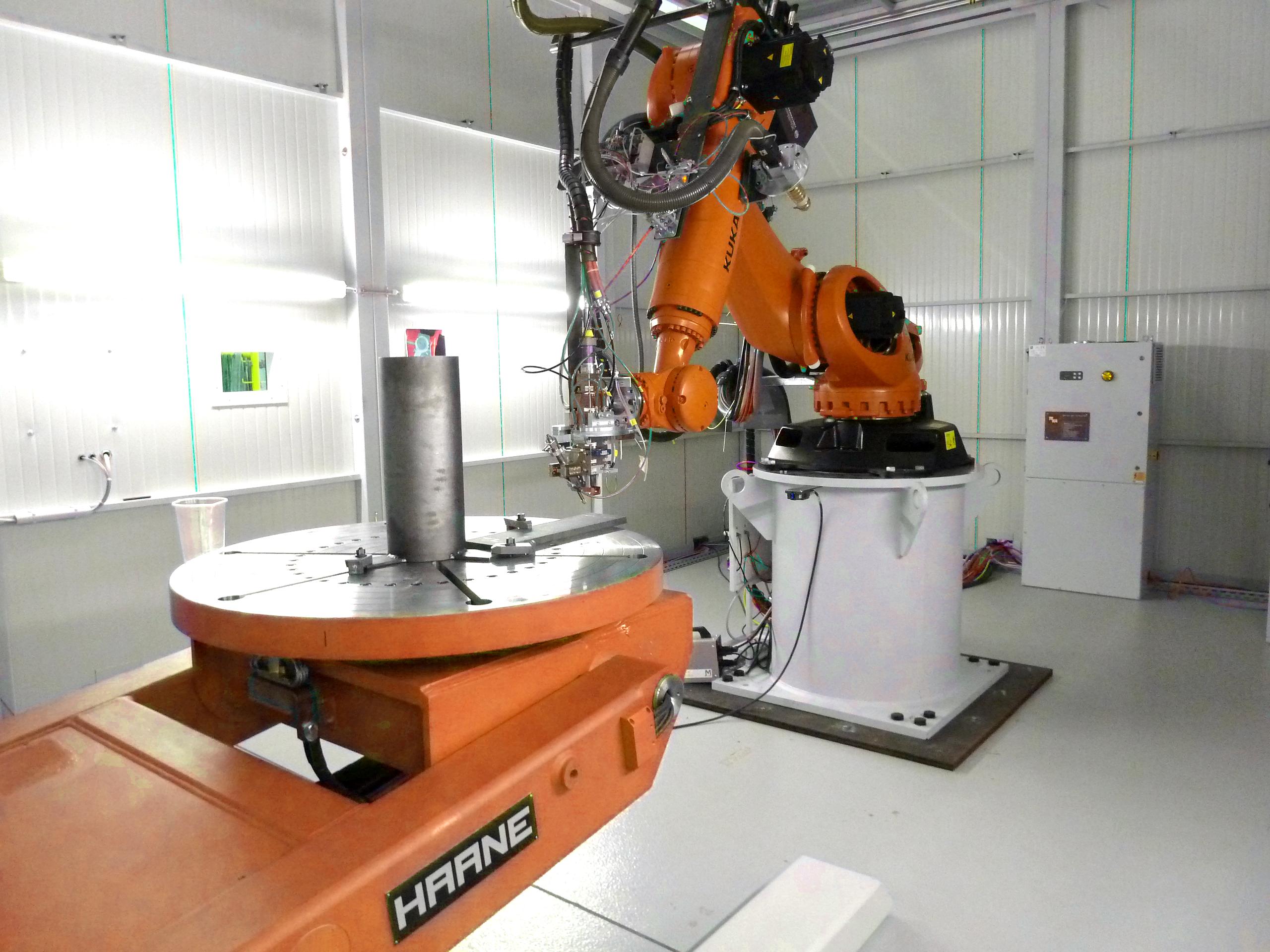 robot welding solutions